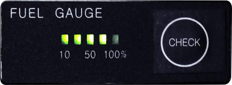 バッテリー残量ゲージ